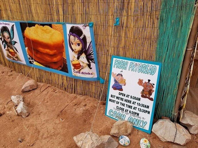 Havasu Reservation frybread shack