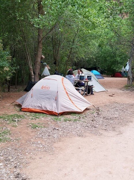 Havasupai Falls campground