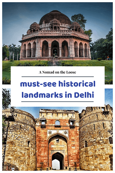 pin for Delhi Things to See for History Buffs