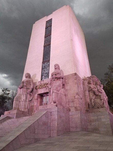 Alvaro Obregon monument