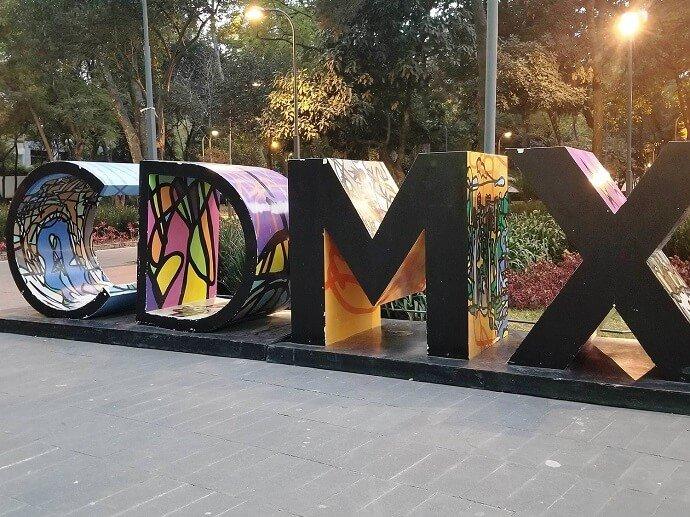 CDMX sign