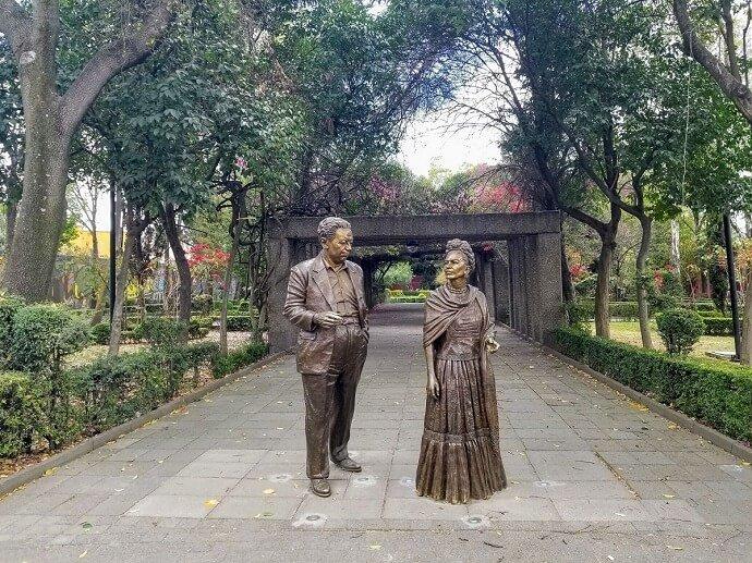 Frida Kahlo park Coyoacan