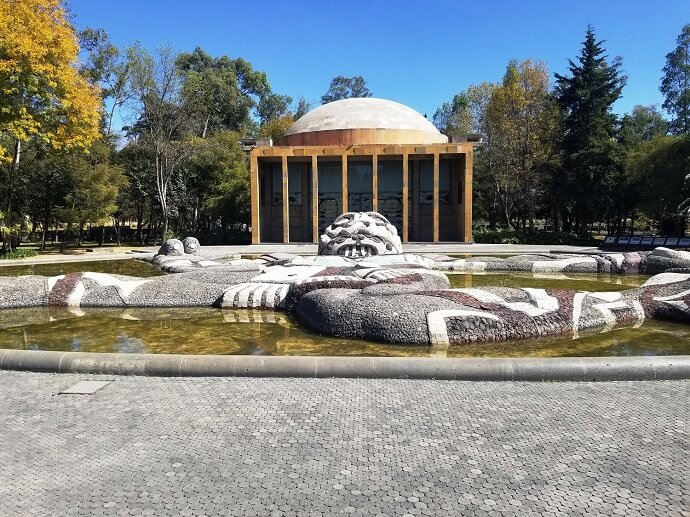 Fuente de Tlaloc in Chapultepec park