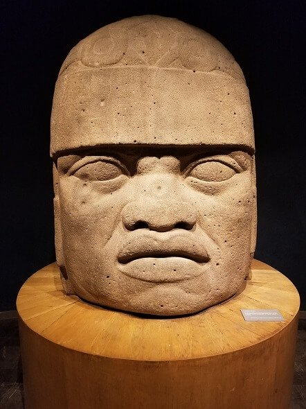 Olmec Head Mexico City