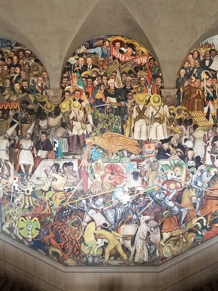 The History of Mexico by Diego Rivera