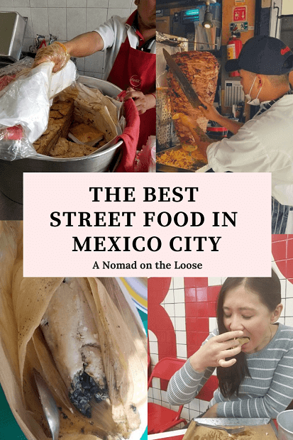 best Mexico City street food pin