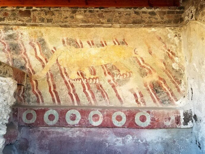 teotihuacan jaguar mural